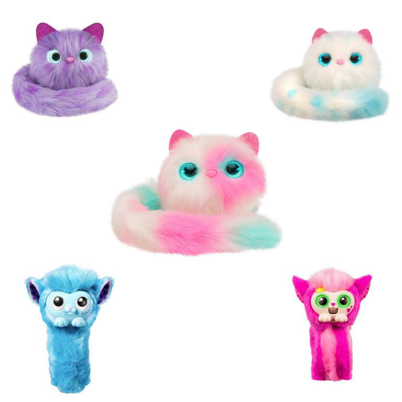Cute Plush Toy Pomsies Surprise soft toy Pomsies Cat Toys Stuffed Toy Wrapples cat Christmas Birthday Gifts for Kids Girls fashion hot cute big face smile cat plush stuffed toys soft animal dolls christmas gifts for kids girls animais brinquedo ww311
