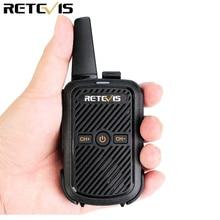 Retevis RT15 Mini Walkie Talkie 2W UHF 400-470MHz 16CH CTCSS/DCS TOT VOX Scan Two Way Radio Communicator