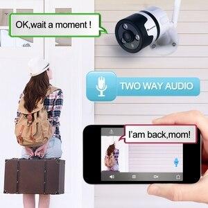 Image 2 - HD 1080P kamera Wifi IP bezprzewodowy panoramiczny aparat Monitor Wireless360 stopni Wifi telefon domowy zdalny szerokokątny Telecom