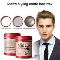 Мужской воск для укладки волос, без блеска, Матовый для сухих волос, стойкий, формирующий MSI-19