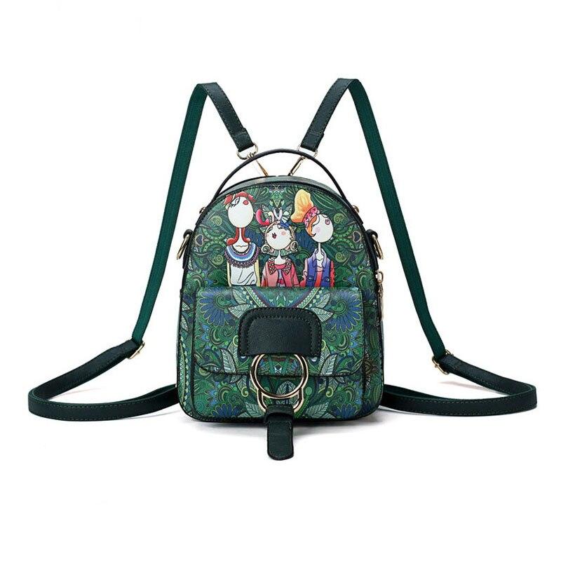 Современные маленькие рюкзаки для девочек женские многофункциональные летние