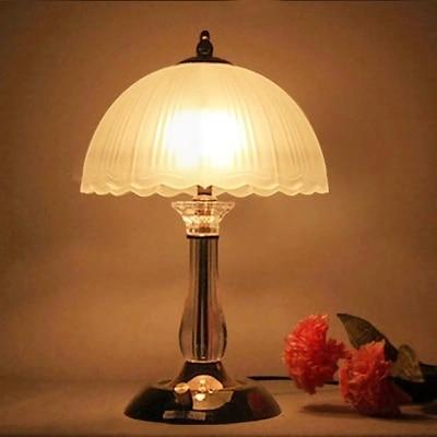Освещение современный краткое кристалл настольная лампа спальня ночники моды замуж исследование лампы