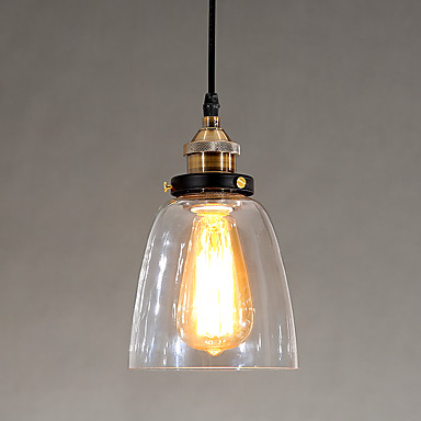 Glass Edison Retro Vintage LED Pendant Lights Fixtures Dinning Room Style Loft Industrial Lamp Home Lighting Lamparas retro loft style industrial vintage pendant lights hanging lamps edison pendant lamp for dinning room bar cafe