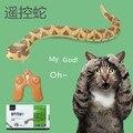 Детский подарок пульт дистанционного управления игрушка змея siderosome электрический искусственный животных мальчик подарок на день рождения