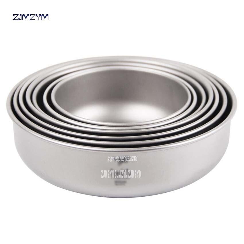 Ti5375 un ensemble 7 pièces titane matériau bol extérieur Camping vaisselle plein air camping pique-nique quotidien titane vaisselle ensemble - 2