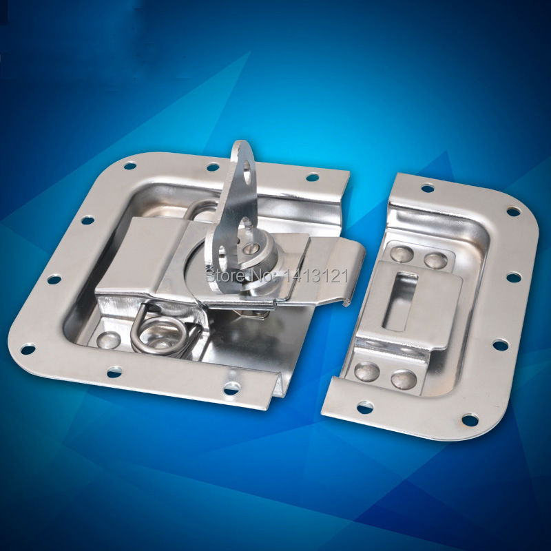 metal hasp Butterfly lock air box buckle tool box clasp bag hardware part woodenbox Aluminum cases clasp lock metal hasps john lone butterfly lock nasal air box lock cold rolled steel fastener box clasp lock catch hardware