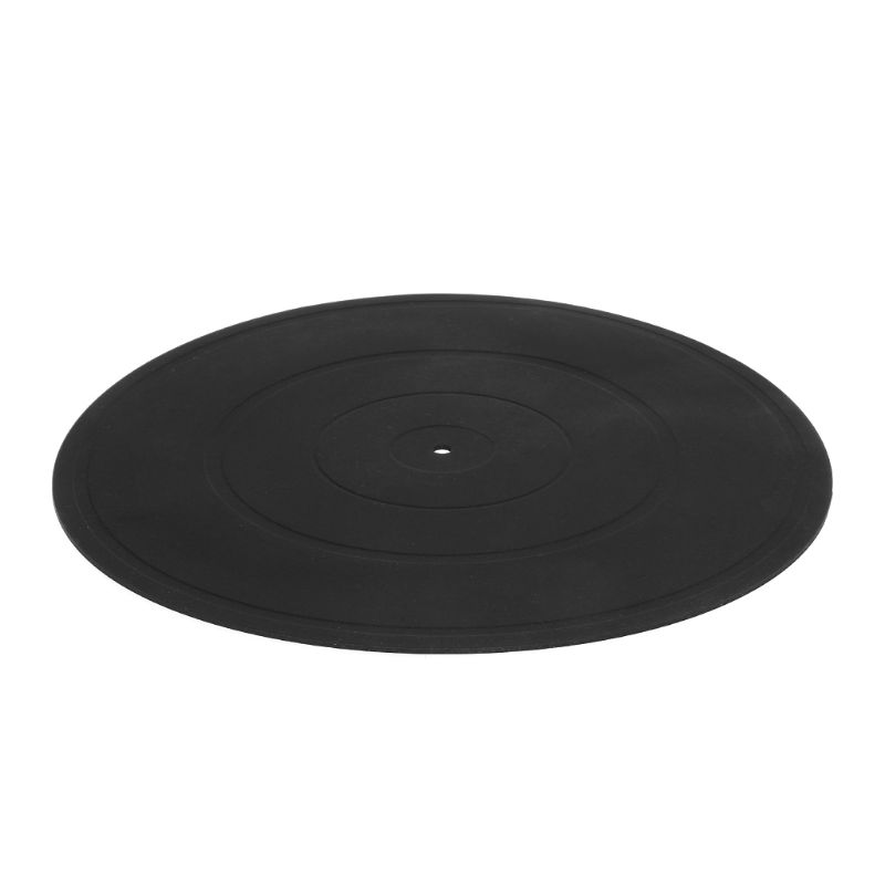 "Turntable Platter Mat 12"" Audiophile Pad Anti-static LP Vinyl Record Players Anti-vibration"