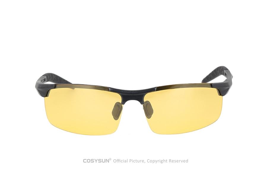 662e53b5f2 De los hombres gafas de sol día y noche fotocromáticos gafas de sol ...