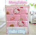 Promoción! gatito Mickey 62 * 52 cabritos del bebé de juguete bañera Bag Hanging organizador de almacenamiento bolsa, sistema del lecho del bebé