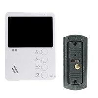 Ysecu 4 TFT Color Video DoorPhone Monitor Doorbell Camera 600TVL Night Vision Video Intercom System Access