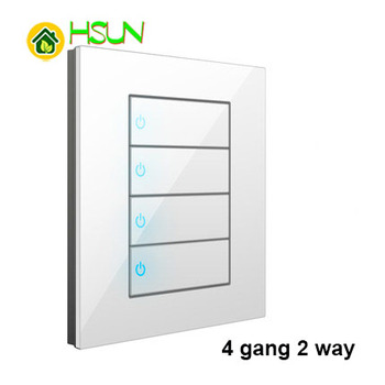 86 Type White Tempered glass Switch 1 2 3 4 gang 1 2 way Lizard Point Switch Comuter TV Telephone Socket Household Wall Switch 13