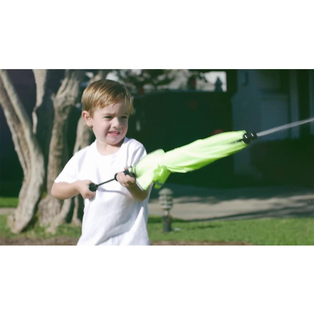 Susino tout en 1 été gicler parapluie en plein air jouet pistolet à eau parapluies pulvérisation d'eau natation plage enfant adultes jeu d'eau bleu