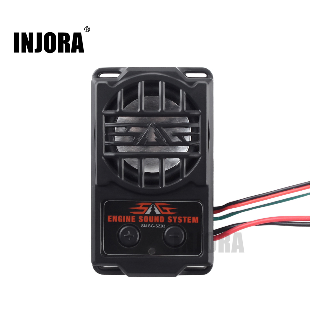 все цены на INJORA 5 Modes Engine Sound Simulator for 1/10 RC Model Car онлайн