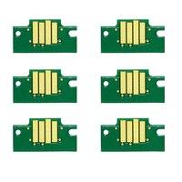 Chip para Canon PFI102 PFI 102 Chip para Canon IPF500 IPF510 IPF605 IPF700 IPF600 IPF610 IPF710 Impresora de inyección de tinta Cartucho de Chip