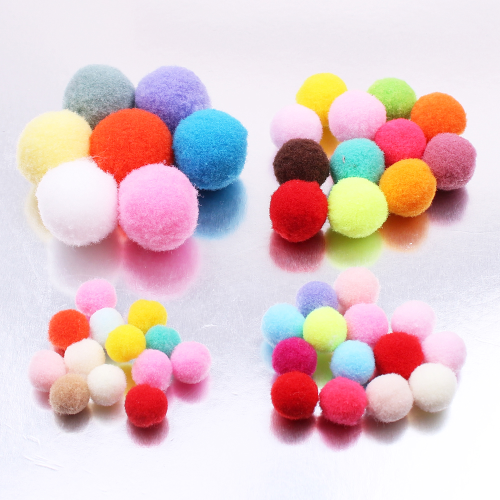 High Quality Aroma Pompoms Perfume Essential Oil Diffuser Felt Cotton Ball for DIY Cage Locket Necklace Room Party Decoration