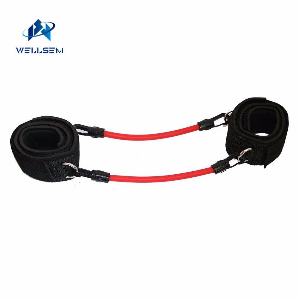 Wellsem vitesse cinétique agilité entraînement jambe course résistance bandes tubes exercice pour les athlètes Football basketball joueurs - 4