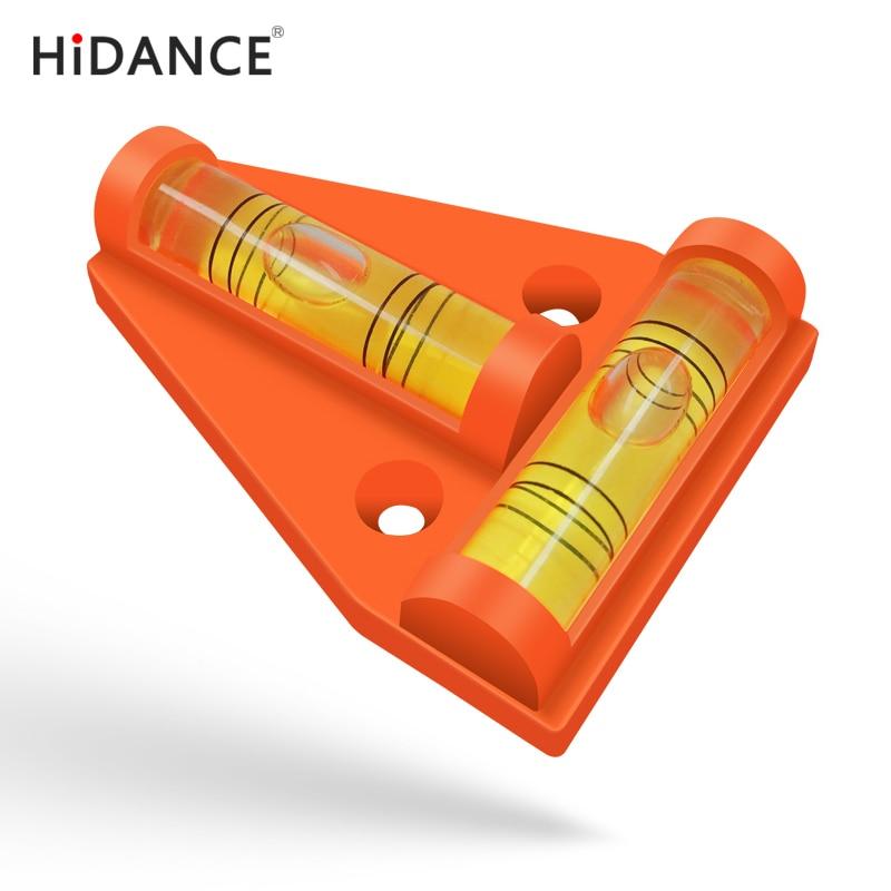 Przyrządy do pomiaru poziomu HiDANCE Trójkątny Plastikowy - Przyrządy pomiarowe - Zdjęcie 2