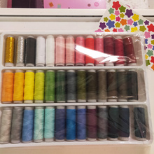 Hot Sale 39 color handmade sewing thread, home embroidery machine line box durable sturdy hand stitching LYQ