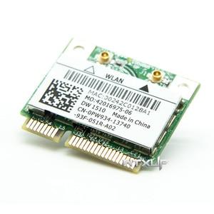 Image 3 - BCM94322HM8L BCM94322 Dual Band 300Mbps מיני PCIE WiFi אלחוטי כרטיס רשת 802.11a/b/g/n DW1510 עבור Mac OS/hackintosh