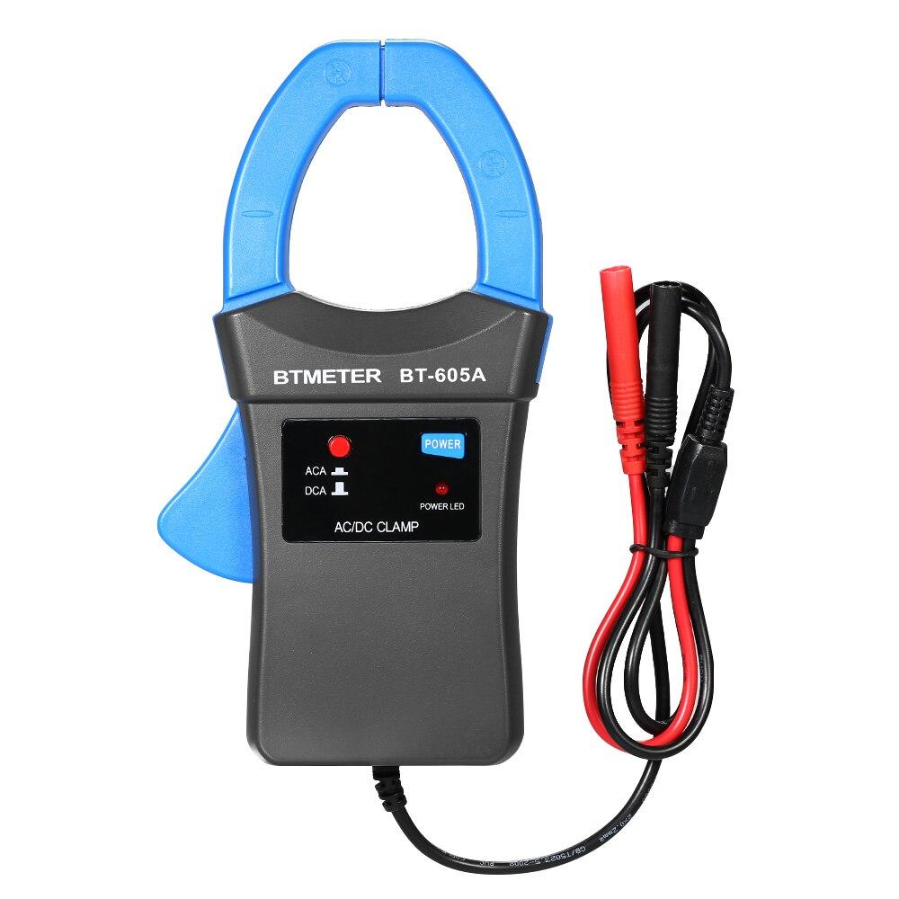 AC/DC Medidor de Pinça de Corrente Adaptador Clamp-On Adaptador de Formas de onda de Corrente do Medidor Multímetro Tester com Probe Para Geral osciloscópio
