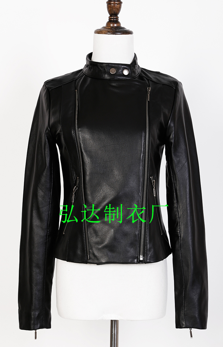 c83c48751b4 Petite Size XXS XS Plus Size 2XL 3XL Genuine Leather Jacket Women Hot  Natural Sheepskin Mandarin Collar Leather Jacket DHL Free-in Basic Jackets  from ...