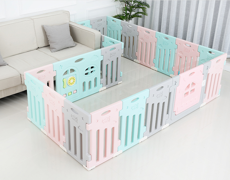 Childrens Indoor Playgrounds Game Center Safety Baby Fence Child Safety Fence Playpen for Baby Kids Toys Educational Playpen