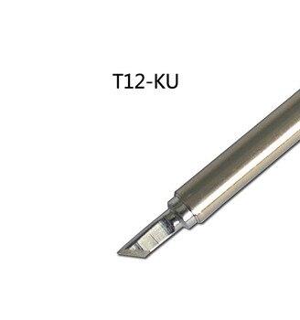 Gudhep STC T12 FX951 Soldering Rework Station FX9501 FM2028 Soldering Iron Handle Replacement Soldering Iron Tips T12-KU gudhep t12 soldering iron tips t12 c4 welding tips replacement tips for fx950 fx951 soldering rework station