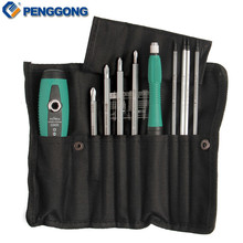 PENGGONG Screwdriver Sets 10pcs CR-V Magnetic Slotted Phillips Star Home Appliances Repair Multi Function Hand Tool Set