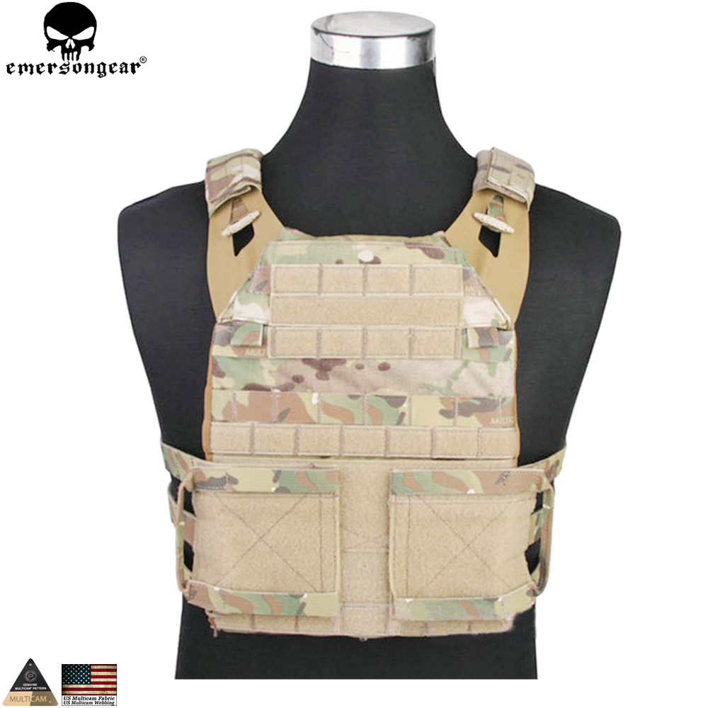 EMERSONGEAR JPC 2.0 Tactical Vest CP Style with Chest Protective Plate Carrier Combat Military Hunting Safety Molle Vest EM7436 hunting tactics molle plate carrier jpc vest military role playing game gear