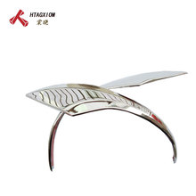 for Toyota Corolla Camry 2015 2016 ABS Chrome Design Accessories Side Mirror Cover Cap Trim Car Styling Stickers 2pcs