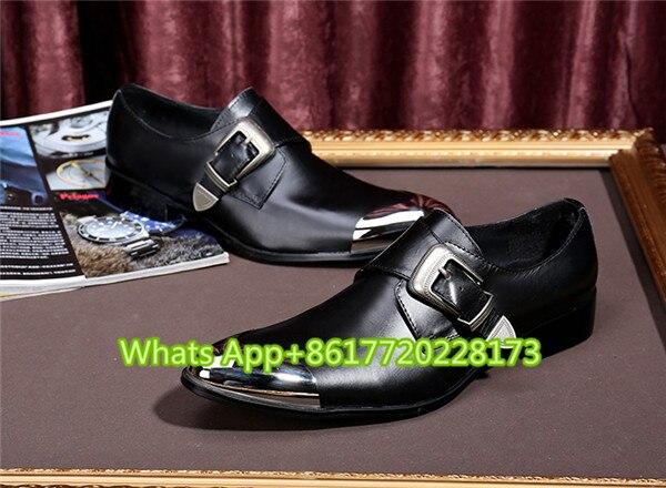Bracelet Grain Hommes Mocassins Homme Boucle Cuir En Métal Chaussure Casual As Noce Orteil Pic Chaussures Zapatos De Appartements Impression Oxford 5qABZxw0xE