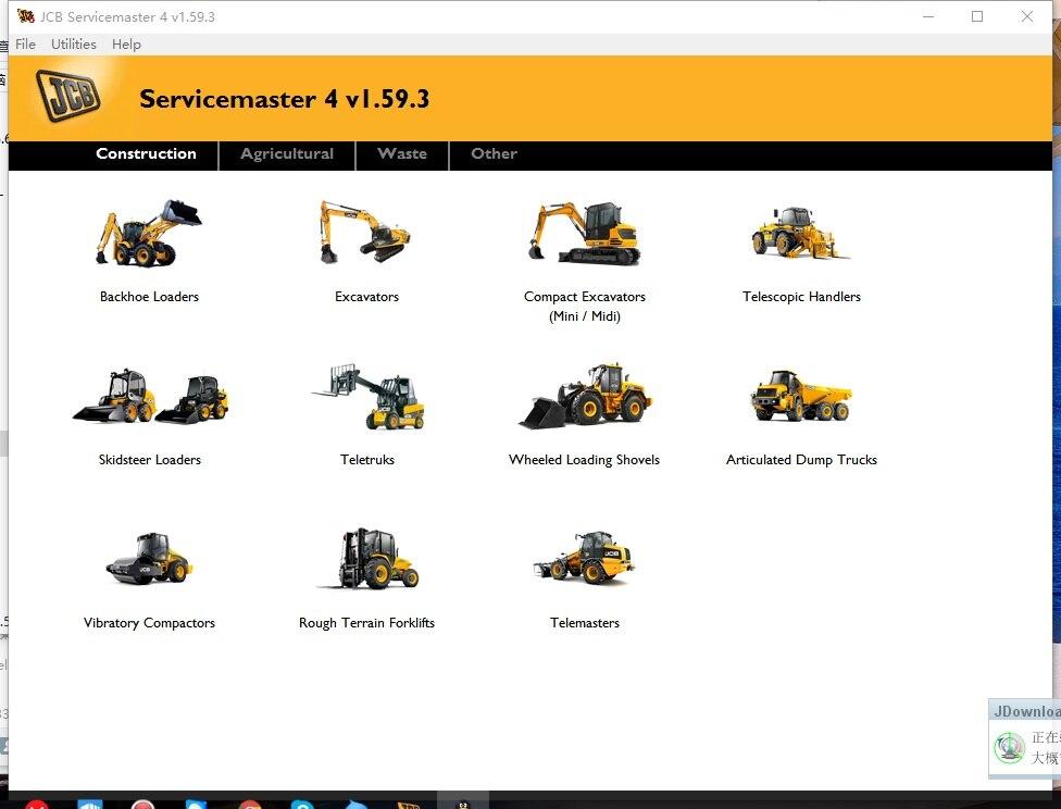 JCB ServiceMaster v1.59.3 [06.2017]  Diagnostic Full jcb jpl015