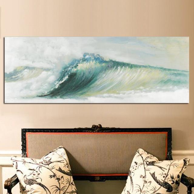 Ocean Mist Canvas Print 2