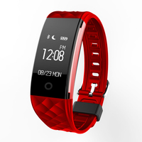 S2 Sport Smart Band Wrist Bracelet Wristband Heart Rate Monitor IP67 Waterproof Bluetooth Smartband For Iphone