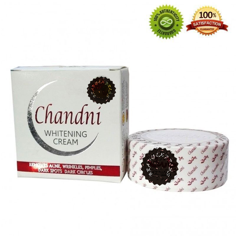Chandni Cream 100%Original Acne,Wrinkles,Pimples,Dark Spots&Dark Circles Removes