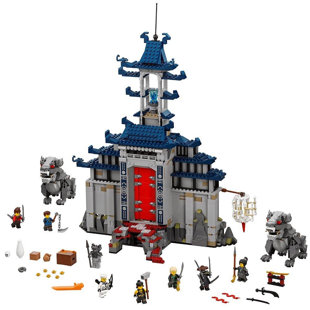 New 10722 Ninja series The Temple of The Ultimate Weapon Model Building Blocks set Compatible 70617 Toys for children new lp2k series contactor lp2k06015 lp2k06015md lp2 k06015md 220v dc