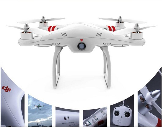 Genuine Dji Phantom RC Quadcopter Drone for GoPro Hero <font><b>3</b></font> 2 1 Camera - with 2.4Ghz Radio Aerial Quad UAV With Naza-M+GPS
