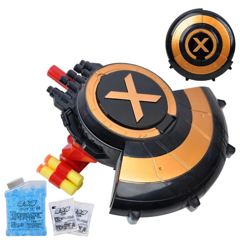 Pistol Gun Soft Bullet and Water ball gun Shield launcher toys Water Crystal 2 in 1 air soft gun Airgun Paintball Gun Pistol