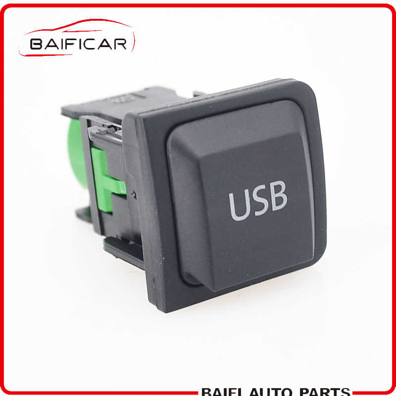 Baificar Brand New Genuine USB Switch Socket Connector Adapter 5KD035726A For VW Jetta MK5 Scirocco Golf MK6 Sagitar Touran Bora
