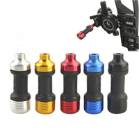 1pc Compound Bow Sight Stabilizer Absorbing Aiming Head Damping Rod Compound Bow Accessory