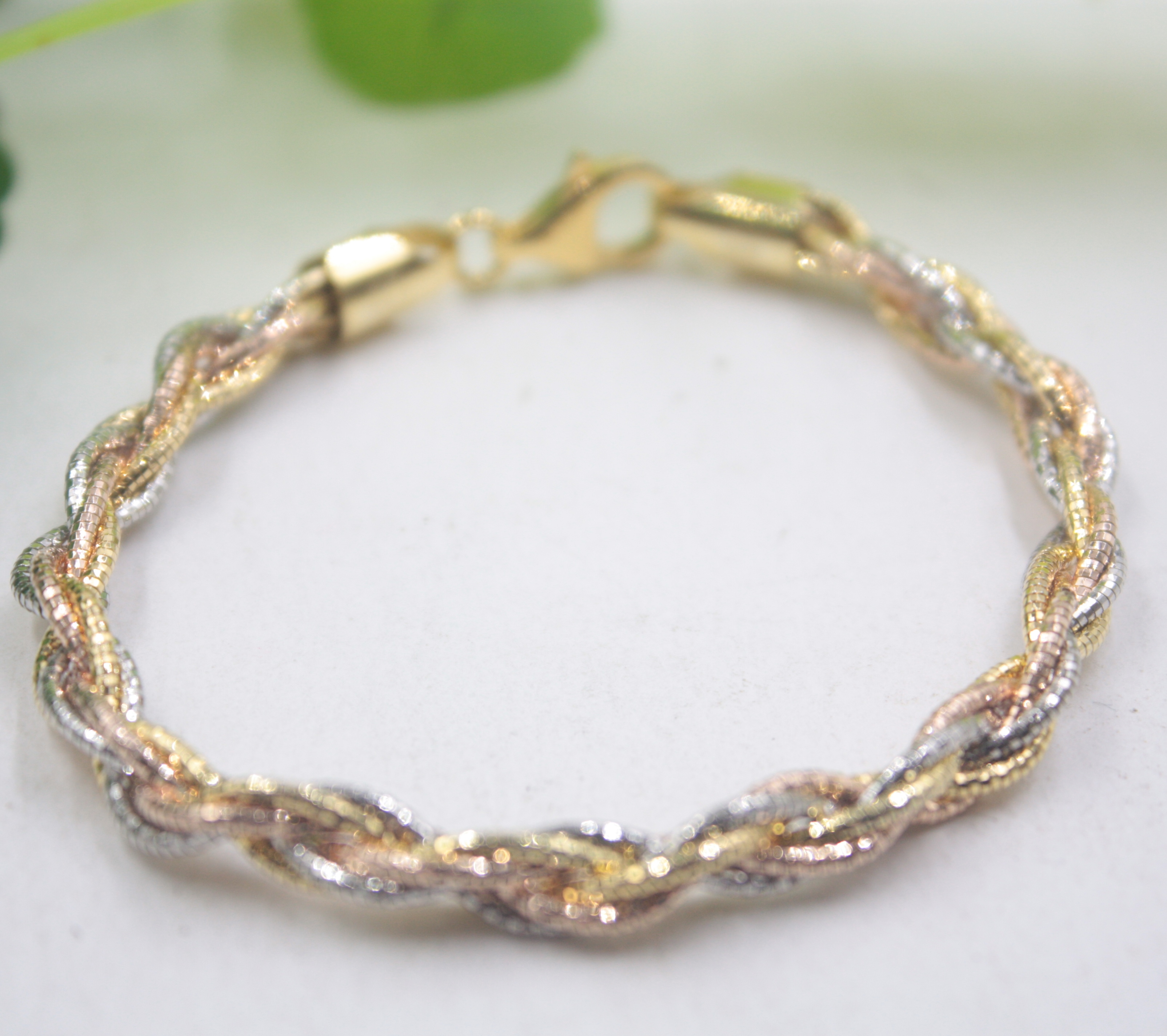 Pure S925 Sterling Silver Bangle For Lover Color Rope Weave Bangle 55-58mm Fashion Friend Gift Hot Sale 5mm