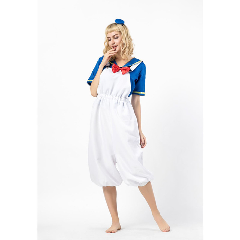 Adult Men and Women Cosplay Costumes Navy Sailor Costume Seaman Uniform Lingerie Sets in Movie TV costumes from Novelty Special Use