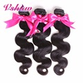 Free Shipping Brazilian Body Wave Human Hair Extension V SHOW Hair Products No Tangle Cheap Brazilian Virgin Hair Bundles