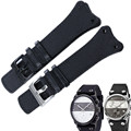 AUTO Watch Strap for CK Calvin Klein K4B384B6 K4B381B3 Pin Buckle + Genuine Leather Watch Bands Strap with FREE TOOLS