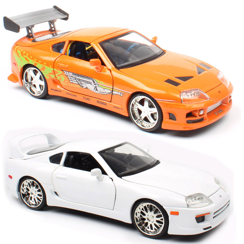 1 24 Jada big the TOYOTA SUPRA Celica 1995 Diecast Vehicles metal race Replicas scale models