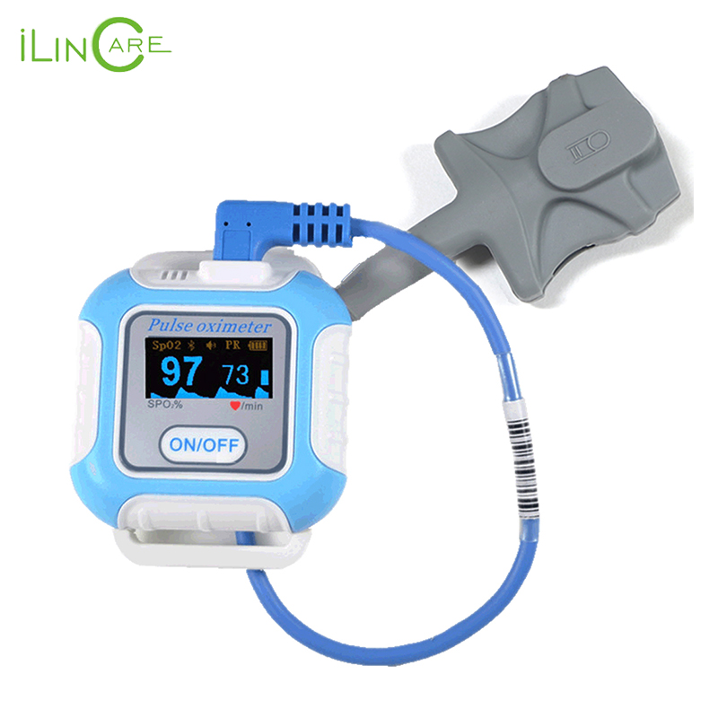 Handgelenk puls meter Bluetooth pulsoximeter SPO2 oximetro de dedo tragbare sauerstoff geräte sleeping Apnea screener pulsioximetro - 2