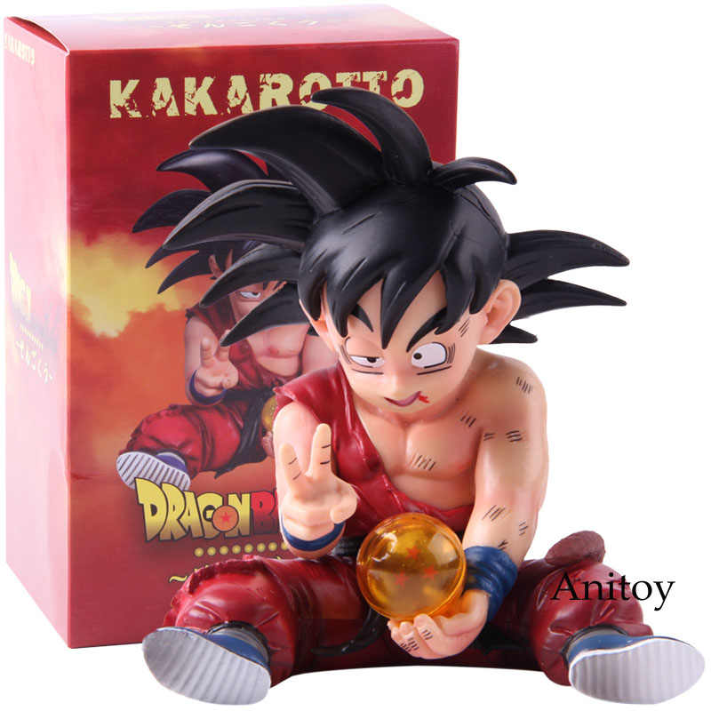 Dragon Ball Z Kakarotto Son Goku PVC Figura Go Ku Figurine do Anime Dragon Ball Z Action Figure Collectible Modelo Toy