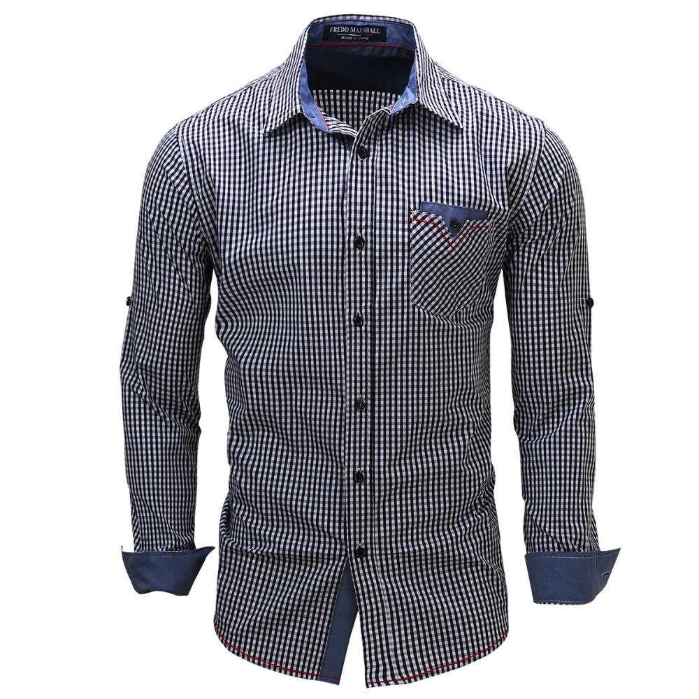 Online Buy Wholesale Mens Check Shirt From China Mens