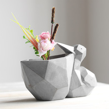 Pelican Shaped Flower Planter