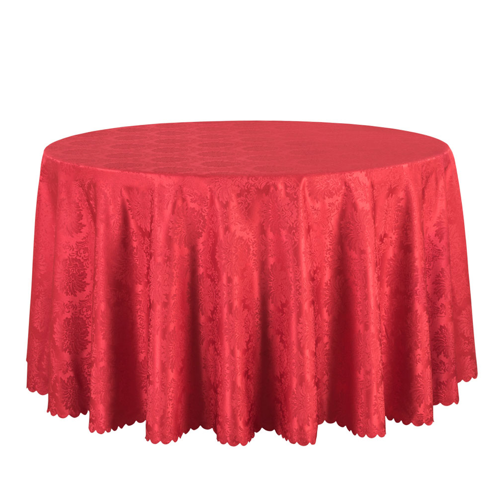 10PCS Wholesale Hotel Wedding Round Tablecloth Solid Jacquard Table Cloths  Square Decor Table Linen Red Black White Table Cover  In Tablecloths From  Home ...